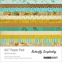 Madame Boutique Collection 6.5 Inch Paper Pad Scrapbooking Kit Kaisercraft