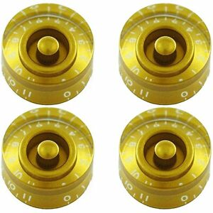 Details about NEW (4) Gold 0-11 Speed Knobs CTS Split Shaft Pots Made for  USA
