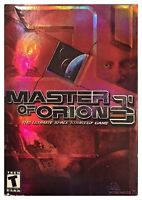 Master Of Orion 3 (pc, 2003) Sealed Box W/game & 160 Pg Manual - Win10 Tested