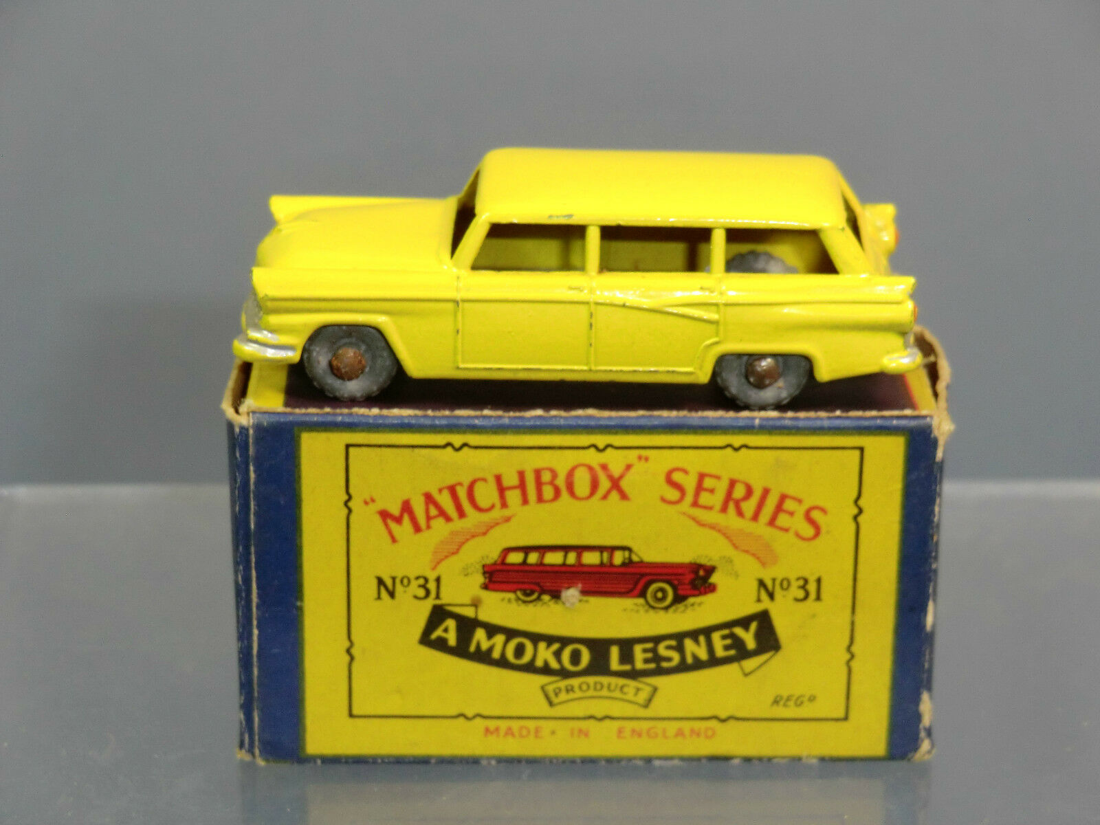 MATCHBOX MOKO LESNEY MODEL No.31a FORD   STATION WAGON       VN  MIB