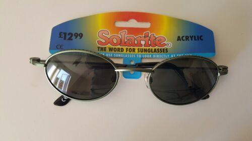 MENS GREEN SOLARITE ACRYLIC SUNGLASSES RETRO UV 100/% 82#