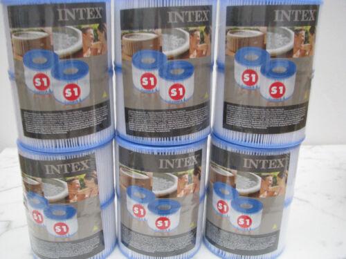 12 x  Filterkartusche 6x2 Stück Spa S1 für Intex Whirlpool INTEX 29001 Filter