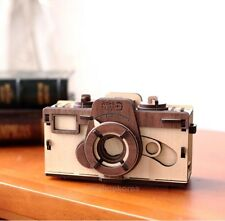 Wood Sum Pinhole Camera Self Assembly Kit Korea DIY PINHOLE Film Wooden CAMERA M
