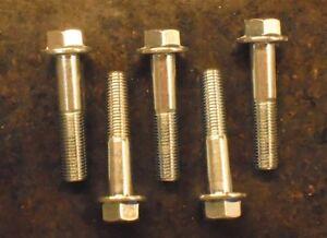 M10-1.25 x 20 or M10x20 10mm x 20mm Fine Thread Flange Bolt Hex head J I S 50
