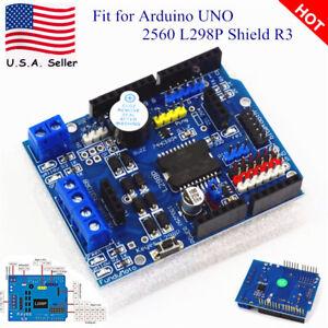 New DC Motor Driver Module 2A H-Bridge 2 way For Arduino UNO 2560 L298P Shield R 615284526551