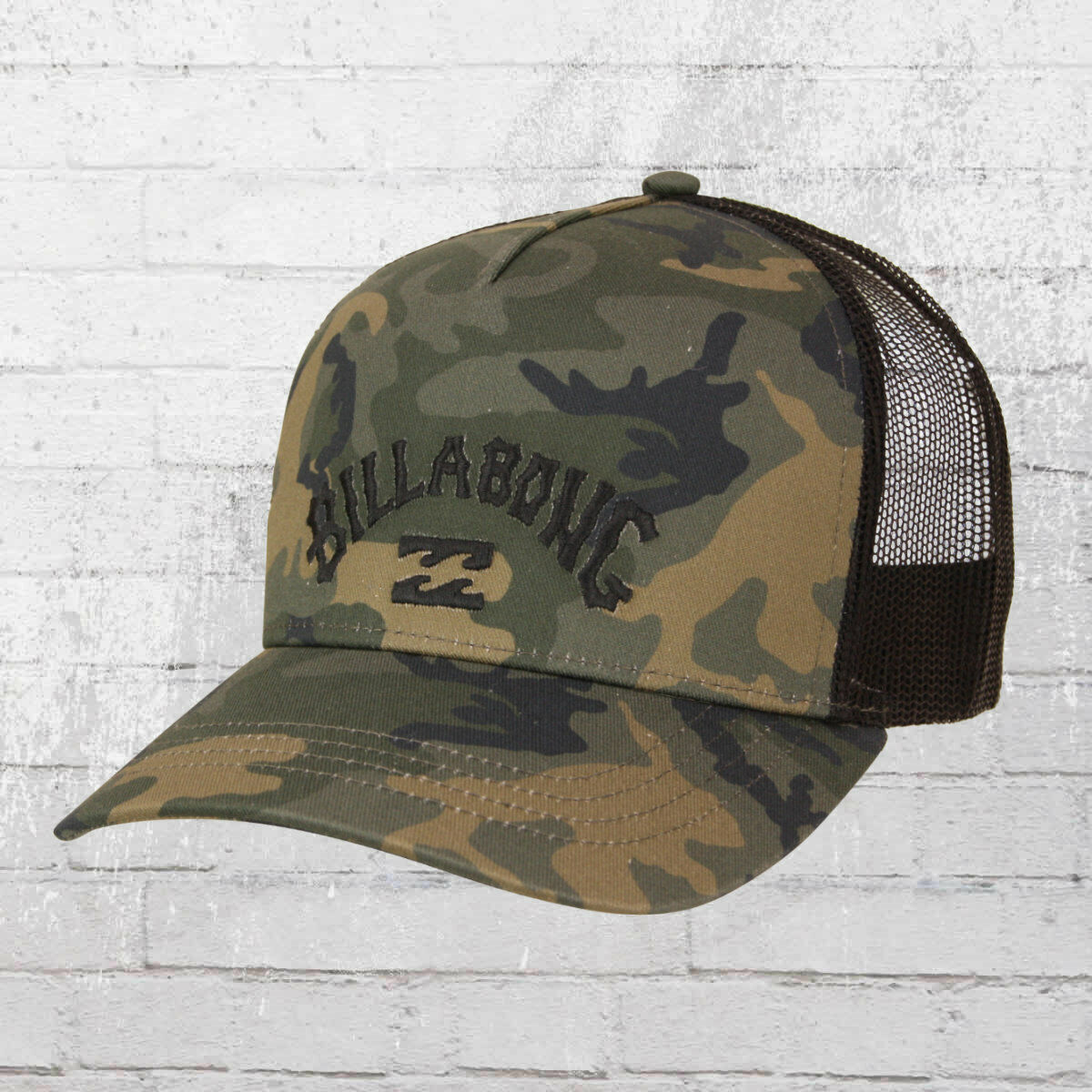 Billabong Flatwall Trucker Cap camouflage Kappe Mütze Haube Basecap Cappy Hat