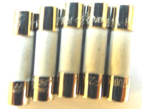 MXP x5pcs FUSIBILE 2 A 20 mm F2A colpo rapido HBC H 250 V ceramica veloce 0216002