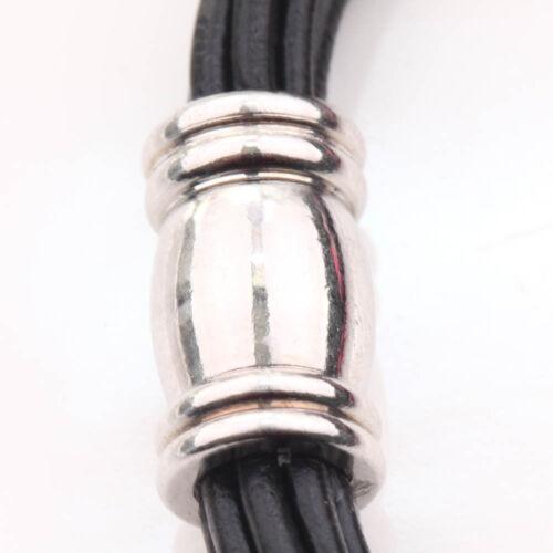 Lots 5//10Pcs Tubular White K Strong Magnetic Clasp Hook Bracelet Jewelry Finding