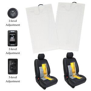 Car Seat Heater Kit Carbon Fiber Universal Heated Cushion Warmer 2 ...