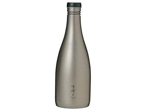 New Snow Peak Sake Bottle Titanium TW-540 tableware