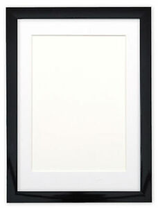 Black Or White Gloss Picture Frames With Quality Black White And
