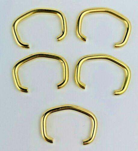 Lot de 5 x SMITHS//Ingersoll Couleur Or Montre de poche Bows pièces difficiles à trouver
