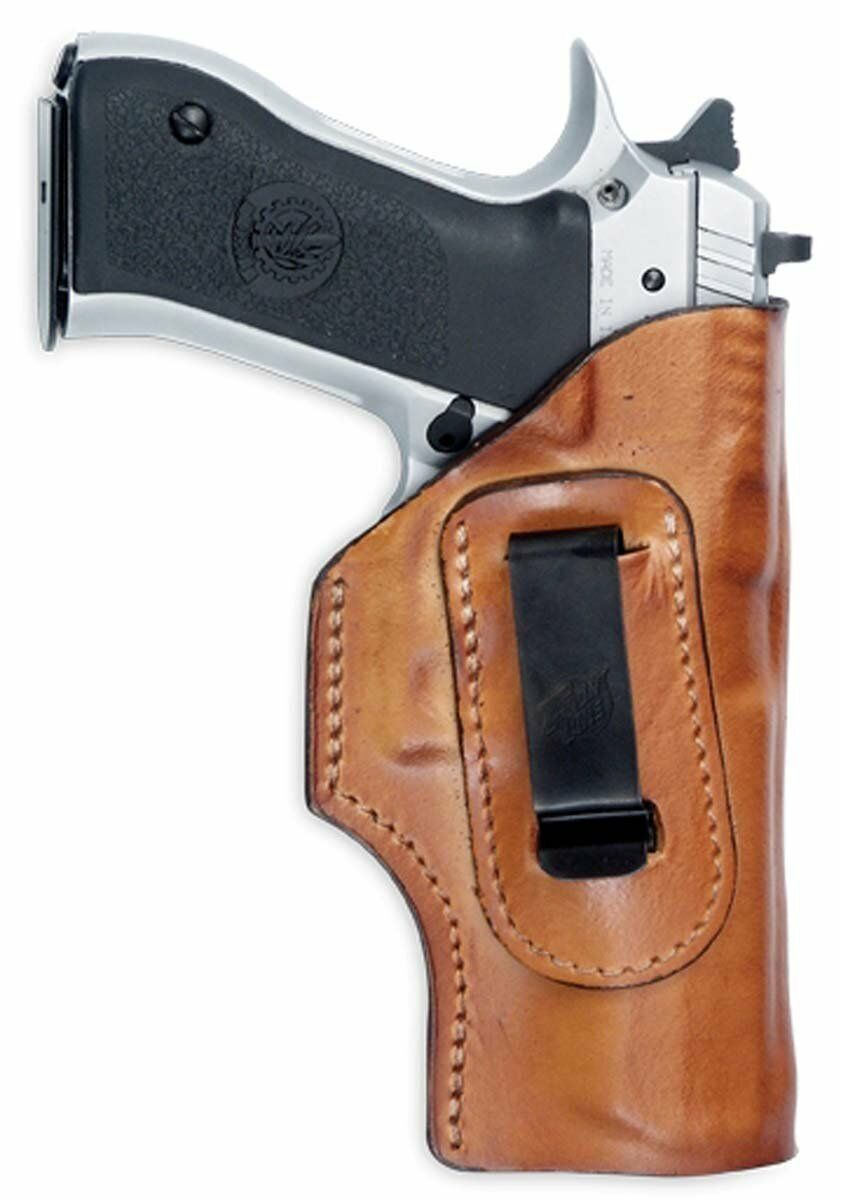 Waistband Leather Holster (Brown), Left Hand, Jericho-Baby Eagle FS NEW