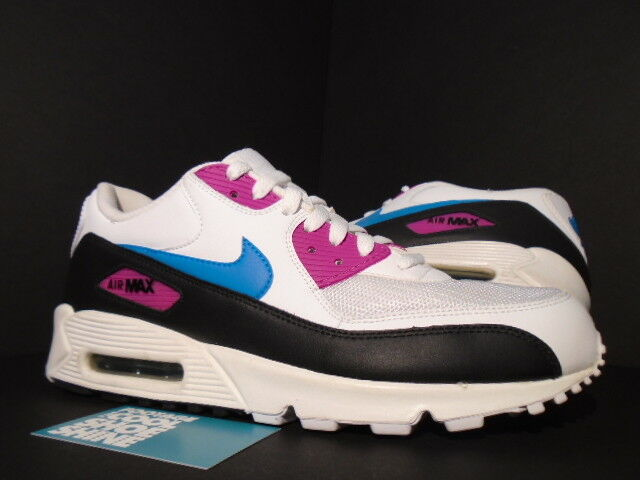 2009 Nike Air Max 90 WHITE NEO TURQUOISE blueE RAVE PINK BLACK 325018-141 11
