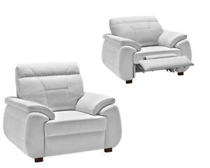 Sessel Maxi Echt Leder Elektrische Relaxfunktion Ebay