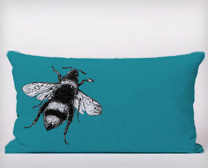 Bee-Blue-Long-Cushion-Covers-Pillow-Cases-Home-Decor-or-Inner