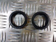 Fork Oil Seals Par para Honda NHX 110 WH llevar una JF19A 2010 - 2013