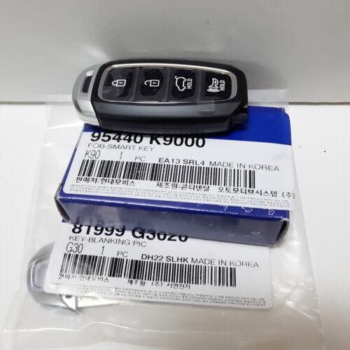 Genuine 2017-2019 Hyundai Veloster Smart Key FOB Keyless Entry Remote 95440K9000