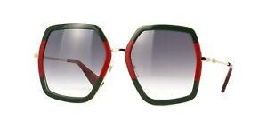 891c41ca99329 Image is loading NEW-AUTHENTIC-GUCCI-GG0106S-007-GREEN-GOLD-FRAME-