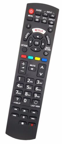 Ersatz Fernbedienung für Panasonic TV TX-32ESX609TX-40ES400BTX-40ES400E