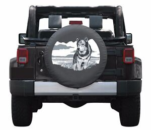 Wonderful Image Is Loading 32 034 Wildlife Tire Cover Wolf Jeep Wrangler