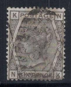 Grossbritannien-1873-Mi-44-Gestempelt-60-6-Pence-Koenigin-Victoria-K-N