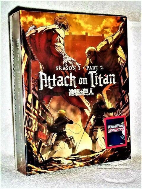 Attack On Titan Season 3 Part 2 Limited Edition (Blu-ray ...