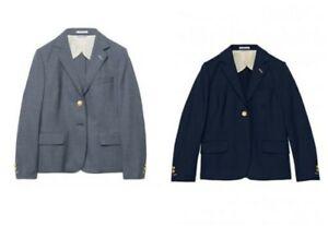 Women/'s Hopsack Wool Blend Blazer 6830