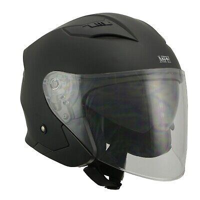 Milwaukee Performance Helmets Mens Size half helmet MAT BLACK, XS