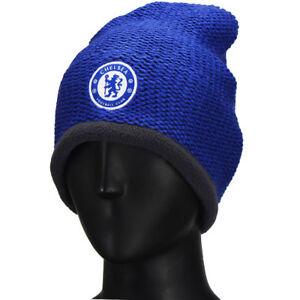 fa7248e531f Adidas 15-16 CFC Chelsea Football Club Winter Beanie Hat A98713 Blue ...
