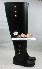 Seraph of the End: Vampire Reign Mikaela Hyakuya NEW Boot Shoes Cosplay Boots