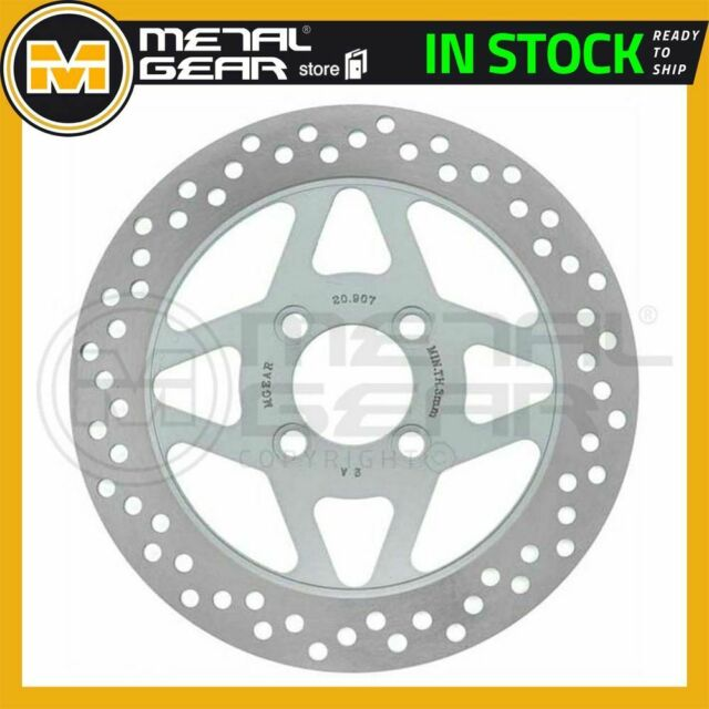 MetalGear Brake Disc Rotor Front L for HYOSUNG XRX 125 Offroad 2005 2006