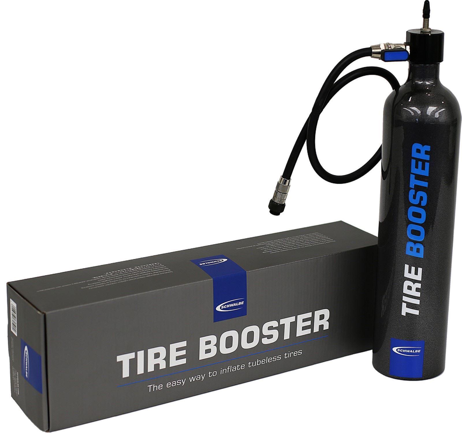 Schwalbe Schlauchlos Reifen Booster Inflator Pumpe für Presta Ventil