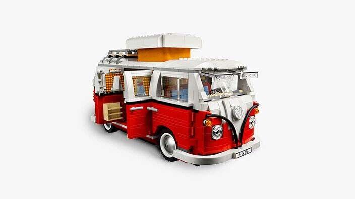 Original Volkswagen Bulli T1 Campingbus Lego 211099320 BL9