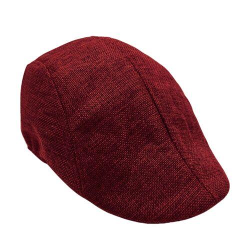 Men Womens Visor Hat Sunhat Mesh Running Formal Casual Breathable Beret Flat Cap