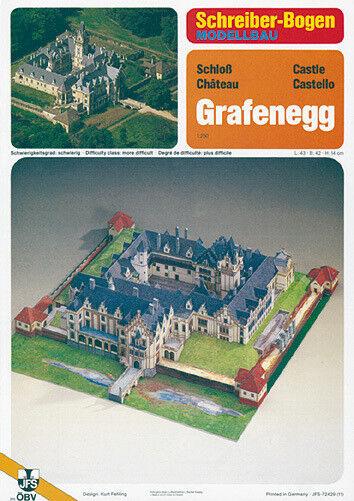 Grafenegg Castle Building 1 250 Schreiber-Bogen Paper Model