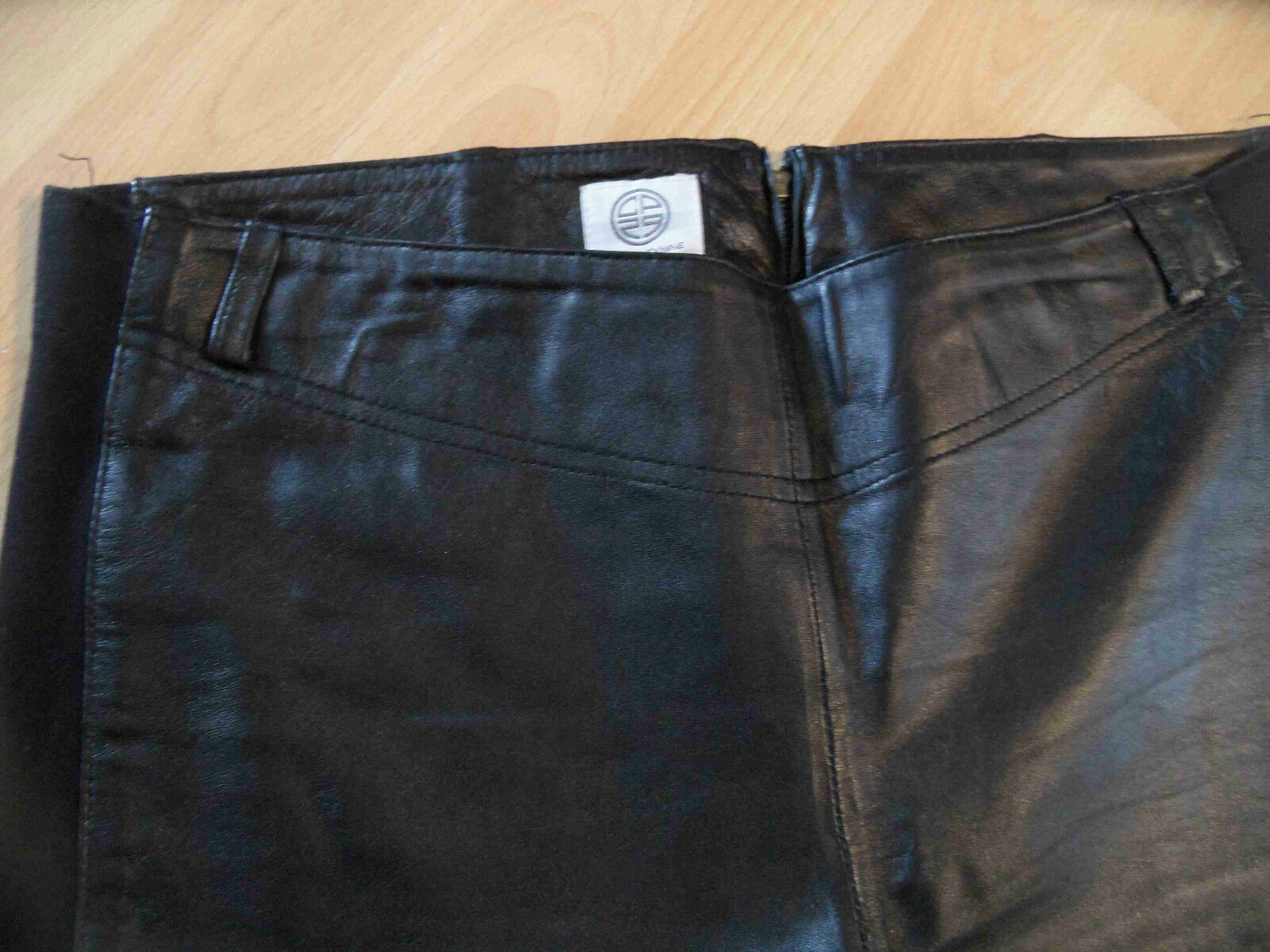 CP29 TWENTYNINE stylische Lederhose Lederleggings schwarz Gr. 38 38 38 40 NEU fca00f