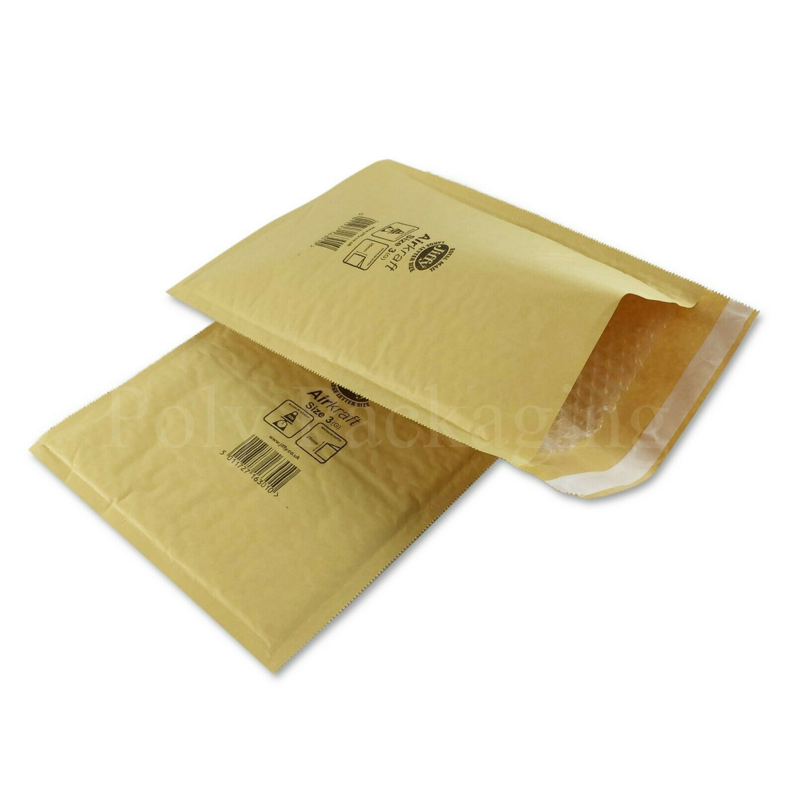JIFFY gold ENVELOPES 220x320mm(Size 3)Padded Mailing Bags Small Parcel Any Qty