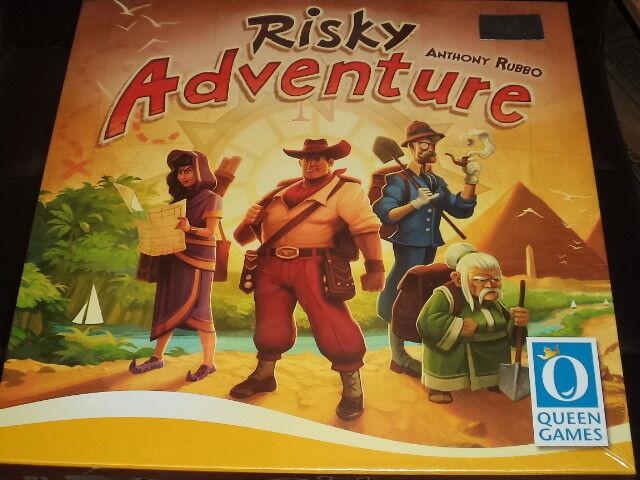 Risky Adventure - Queen Games Board Game Nuovo
