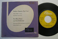 """7"""" Bechet Spanier Big Four / Pee Wee Hunt - Lazy River Sunny Side Of The Street"""