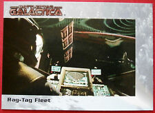 BATTLESTAR GALACTICA - Premiere Edition - Card #46 - Rag-Tag Fleet