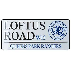 Queens Park Rangers Fc Loftus Road Official Football Street Sign