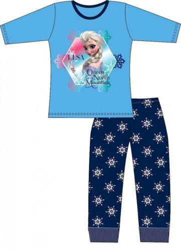 Disney Frozen Elsa Queen North Mountain Girls Pyjamas Age 3 4 5 6 7 8 BNWT