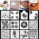 Various Pattern Cake Stencil Cookie Fondant Baking Sugarcraft Tool Wedding Decor