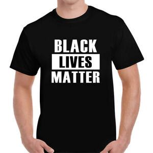 BLACK-LIVES-MATTER-T-Shirt-Mens-Womens-Anti-Racism-Protest-Say-No-To-RACISM