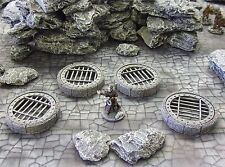 'DUNGEON CAPPINGS' - FANTASY TERRAIN - PAINTED TO COLLECTOR'S STANDARD