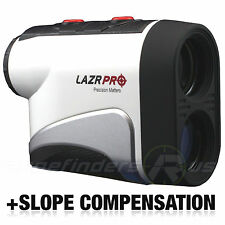 GOLF LASER RANGE FINDER W/ SLOPE ANGLE SCAN FLAGLOCK PINSENSOR LAZRPRO PS-1006