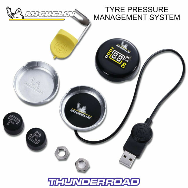 MICHELIN FIT2GO MOTORBIKE TPMS TYRE PRESSURE MONITORING SYSTEM - RRP £79.95