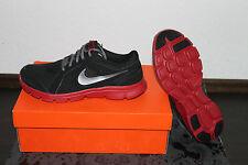 Nike Flex Herren Running Training Schuh Größe 42,5, UK 8, US 9 Schwarz Rot Neu