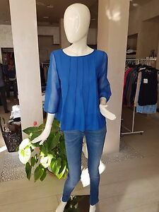 enorme sconto 38c43 5591b Camicia cotone e seta MARELLA modello LIQUORE | eBay